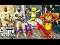 АНИМАТРОНИКИ СПАСАЮТ ЧИКУ ФНАФ ГТА 5 МОДЫ! ОБЗОР МОДА GTA 5 веселая видео игра как мультик для детей