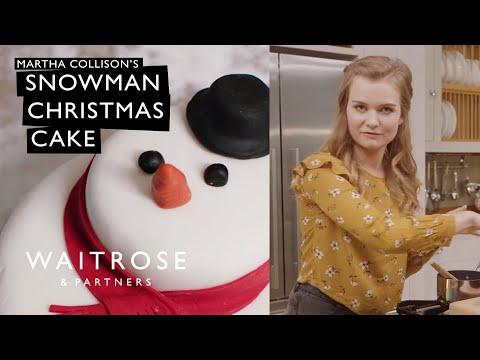 Martha Collison's Snowman Christmas Cake   Waitrose & Partners