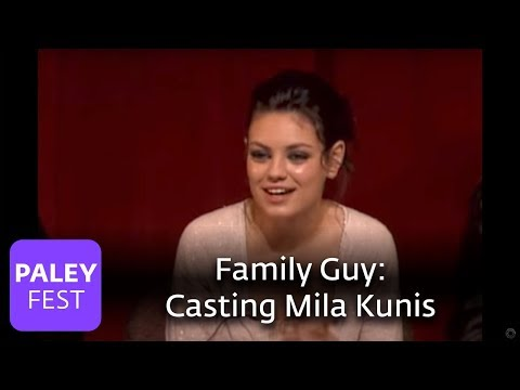 Family Guy - Casting Mila Kunis (Paley Center Interview)