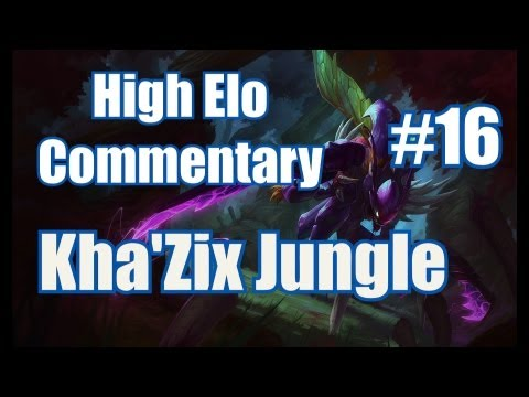 Season 3 | **LIVE** High Elo Ranked Commentary #16 | Kha'Zix Jungle | League of Legends