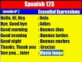 Spanish Lesson. 7. Essential Expressions
