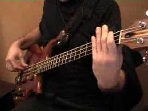 brothers johnson - stomp bass play along