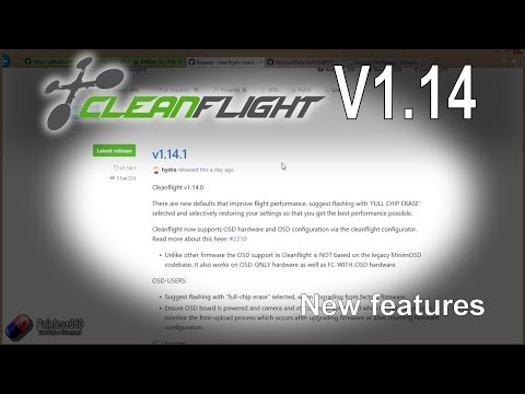 RC Quick Tips: Cleanflight V1.14 Overview - UCp1vASX-fg959vRc1xowqpw
