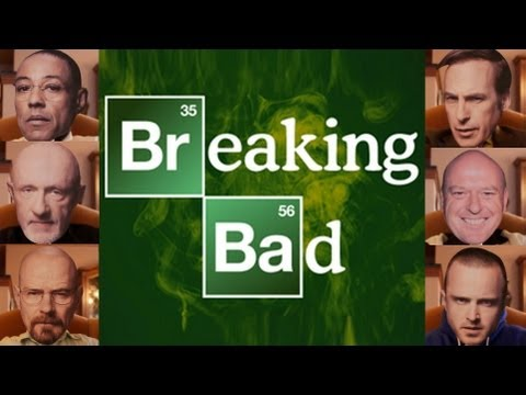 10 Incredible Breaking Bad Impressions in 90 Seconds!