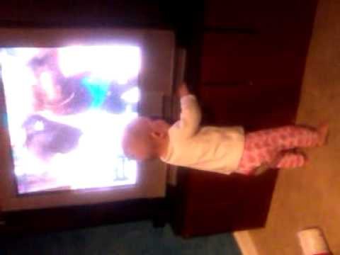Ava watching jerry springer