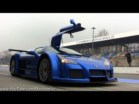800hp Gumpert Apollo in Action - 270km/h Onboard!