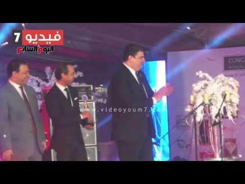 بالفيديو… إلهام شاهين وأحمد بدير ونيرمين الفقى أبرز المكرمين فى احتفالية  - النيل للدراما