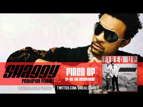 Shaggy ft. Pitbull - &quot;Fired Up (F*ck The Rece$$ion!) Official Audio