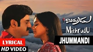 Jhummandi Lyrical Video Song - Mitrudu