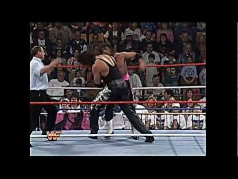 WWE Championship: Bret Hart vs. Diesel 1995 Royal Rumble