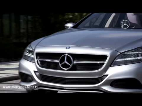 Mercedes-Benz.tv: CLS Shooting Brake - New Dream Car Goes Into Production