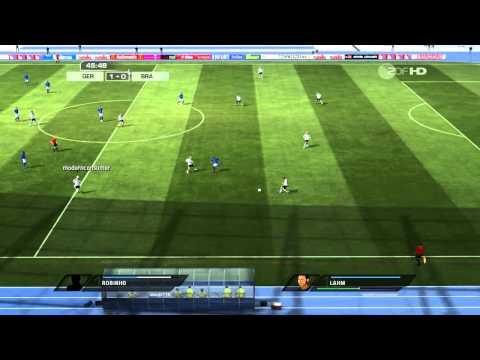 Deutschland - Brasilien ~ Freundschaftsspiel ~ Fifa11 PC Prognose [720p]