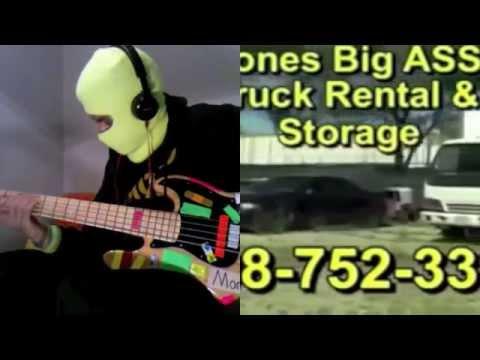 MonoNeon + Publio Delgado (guitar): Jones Big Ass Truck Rentals & Storage