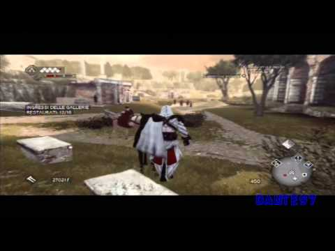 Assassin's Creed Brotherhood (ITA) parte 11 Le Macchine di Leonardo - La Mitragliatrice