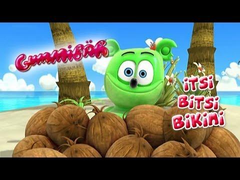 Gummibär - Itsi Bitsi Bikini English Version