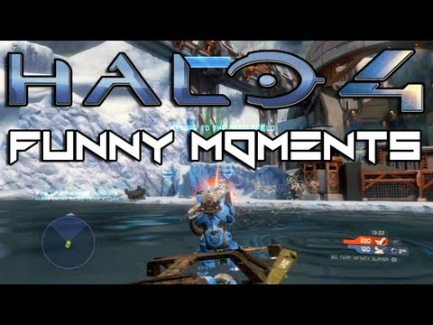 Halo 4 Betrayals and Fails with KYR SP33DY (Funny Multiplayer Trolling and Mantis Gameplay)