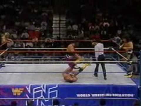 Owen and Bret Hart Vs. The Steiner Brothers (1-11-94) Pt. 2.wmv