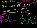 Фрагмент с средины видео - What is a differential equation