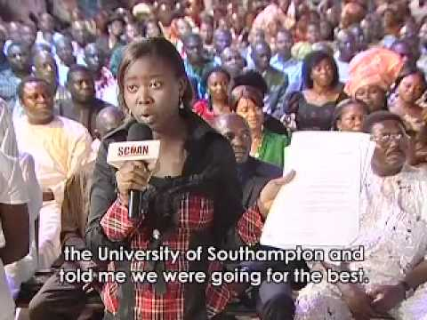TB Joshua grants uk scholarship