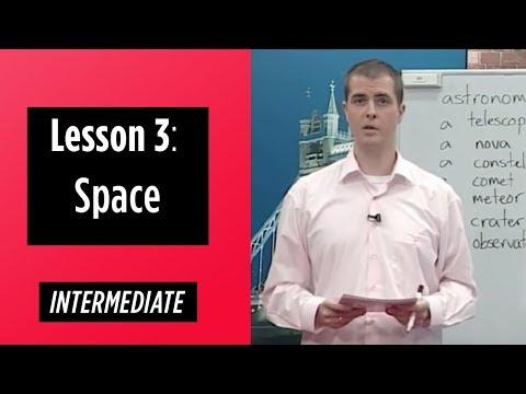 Intermediate Levels - Lesson 3: Space