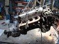 Mercedes 450SLC renowacja odcinek 2 - Wyjęcie silnika