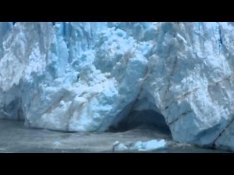 ド迫力☆パタゴニアの氷河が崩れる瞬間!!!