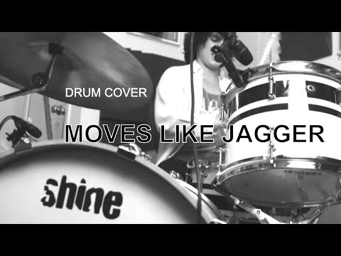 Ricky - MAROON 5 - Moves Like Jagger ft. Christina Aguilera (Drum Cover)