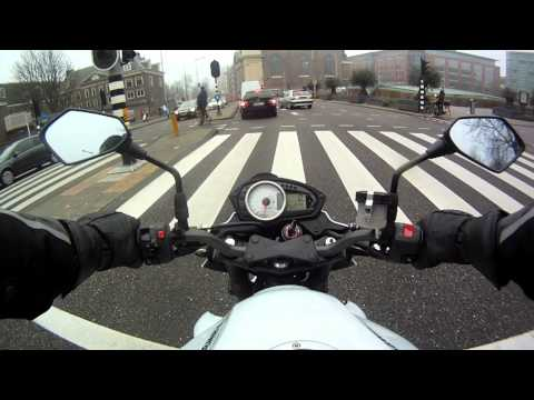 GoPro Chest mount Test on Kawasaki Z750