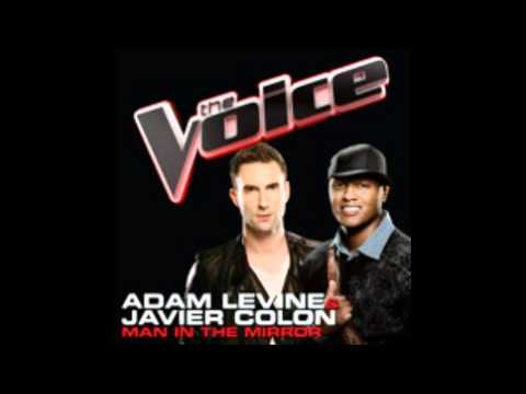 The Voice : Adam Levine and Javier Colon - Man In the Mirror [STUDIO VERSION]