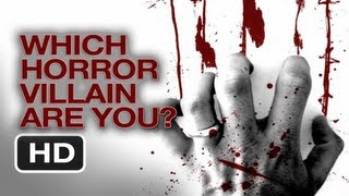 Which Horror Movie Villain are you? - Interactive Quiz - Happy Halloween 2012