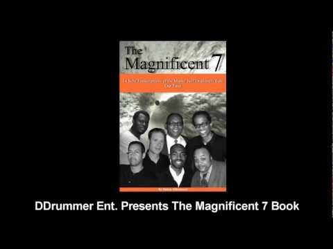 The Magnificent 7 - (Modern Jazz Drum Solo Transcription Book)