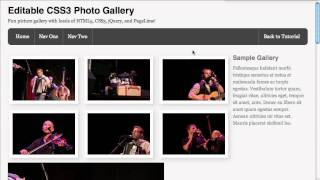 Screencast #74: Editable CSS3 Image Gallery