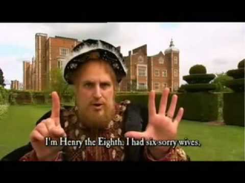 HORRIBLE HISTORIES - The Wives of Henry VIII (Terrible Tudors)