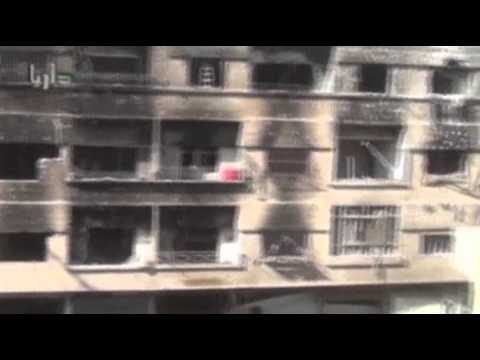 Raw: Violence, Shelling Rocks Syrian Capital  10/7/13
