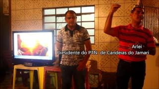 Presidente do PTN confirma coliga��o com PPS de Candeias do Jamari � V�DEO