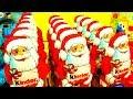 15 Christmas Kinder Surprise Santa Claus Army Surprise Toys Xmas Eggs Mega Unboxing Huevos