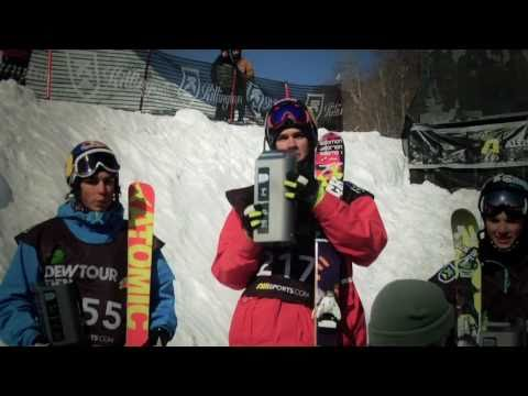 Winter Dew Tour - Freeski Slopestyle Highlights, Killington 2011 - Bobby Brown, Elias Ambuhl, Nick Goepper