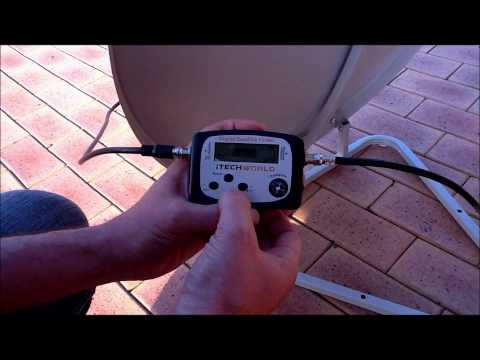 Satellite Finder meter how to use
