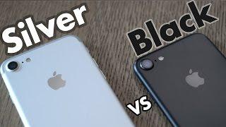 Vidéo : iPhone 7 noir VS gris