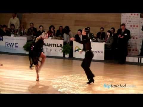 Gabriele Goffredo - Anna Matus, Brno Open 2012, WDSF int open latin, 4. round - samba