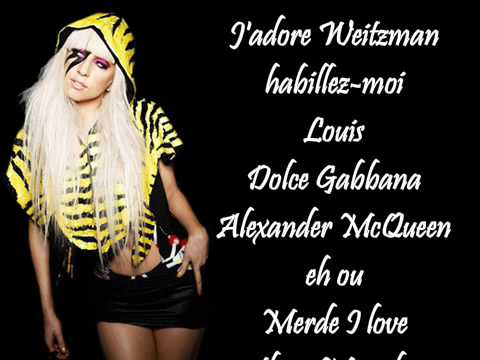 Lady Gaga - Fashion (Lyrics)