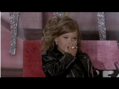 4 year old smoking Cigarette to win child beauty contest