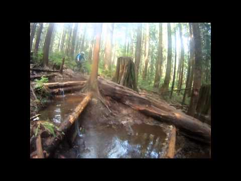 Ladies only - Mount Fromme - North Shore mountain biking