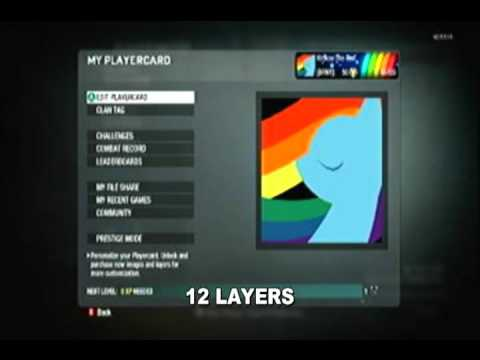 CoD: Blackops Emblems - MLP:FiM (Applejack, Rainbow Dash, Twilight Sparkle)