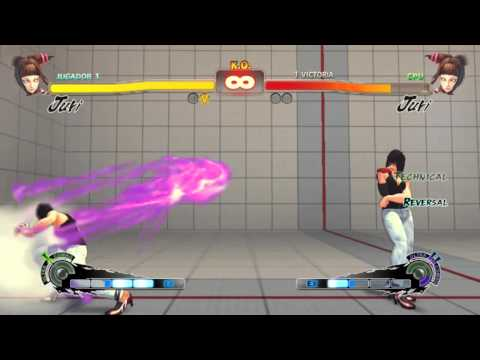 Super street fighter 4 PC - Mirror Edge Juri Han