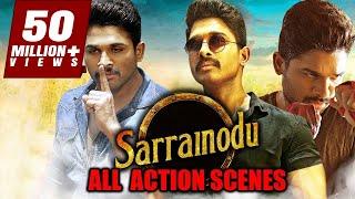 Sarrainodu All Action Scenes  South Indian Movie Best Action Scene
