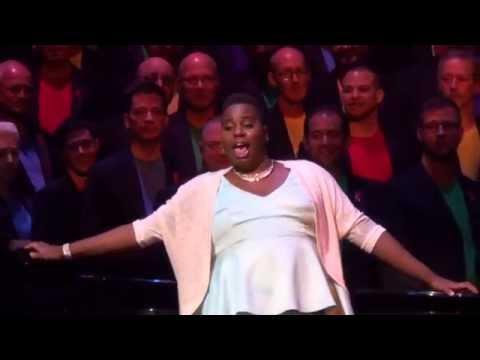 Random Black Girl Alex Newell and Boston Gay Men's Chorus
