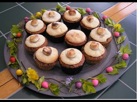 Easter Simnel Cupcakes by Odlums