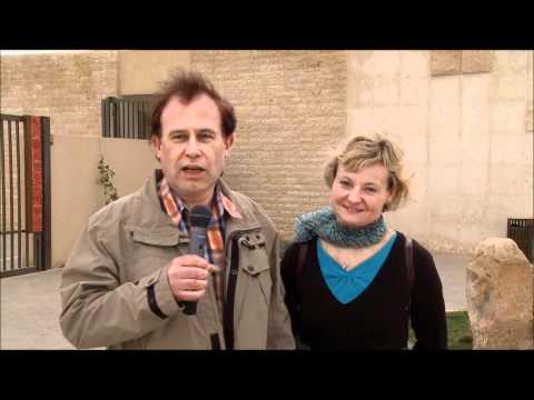 Falk & Heidi in der Zitadelle von Amman