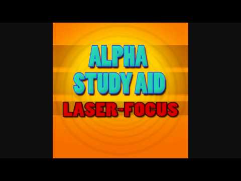 Study Aid 5: 'Laser Focus' - Alpha (10Hz) - Iso-Tone (Procrastinator Eradicator)